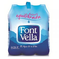 Font Vella 6x1,5l